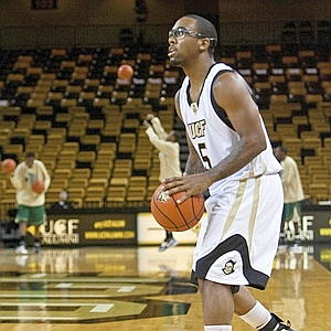 Marcus Jordan on the Court