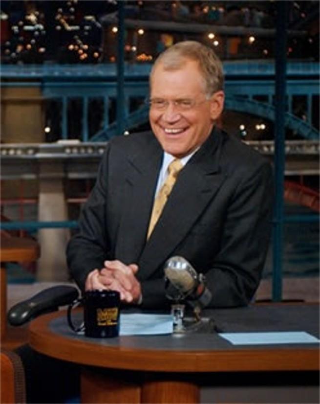 D Letterman confesses